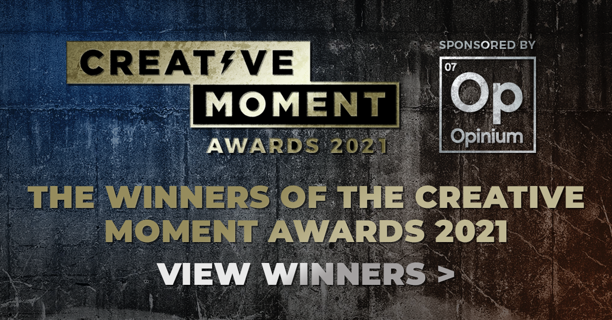 THE WINNERS OF THE CREATIVE MOMENT AWARDS 2021